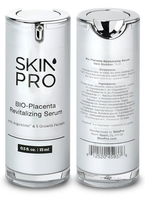 skin pro bio placenta revitalizing serum
