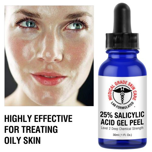 Salicylic acid for oily skin
